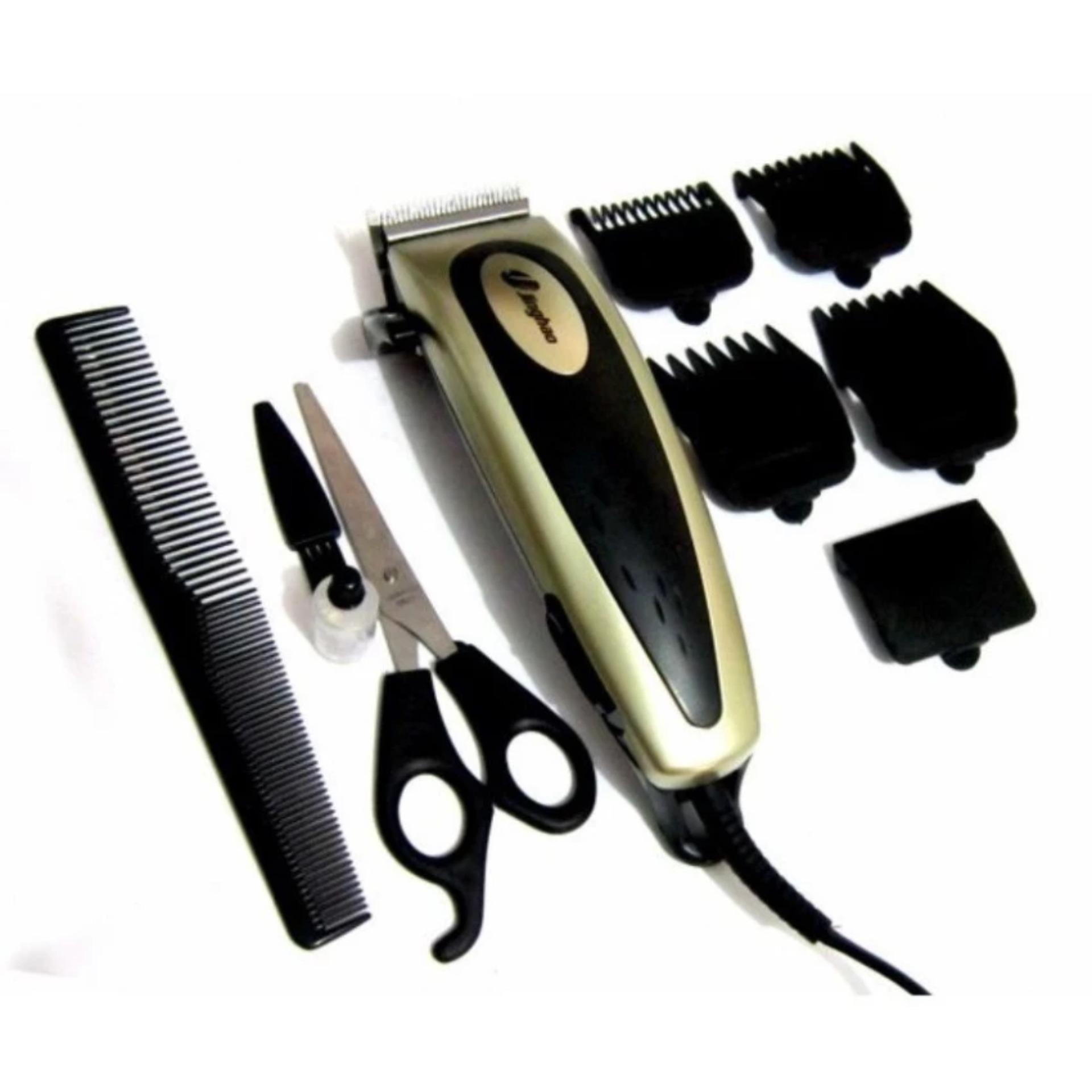 Jinghao Profesional Hair Clipper Trimmer - Mesin Potong Rambut