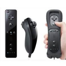 JinGle Remote Control Wiimote + Nunchuck + Case Strap For Nintendo Wii Wii U Game - intl