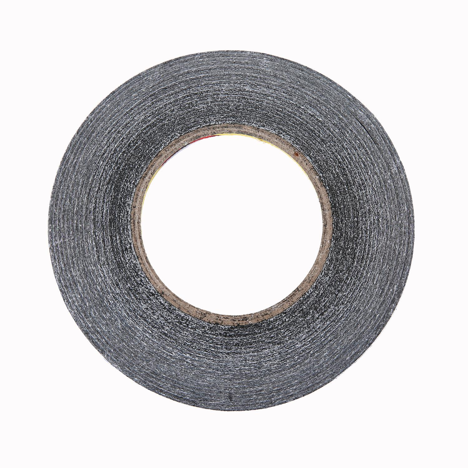 JinQS 1mm Wide 50m Long Double Sided Layer Adhesive Sticky Tape for Cellphone,Touch Screen Glass,HTC HD Mini HD2,etc