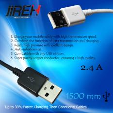 Jireh Kabel Data Fast Charger & High Data Transmission Micro Usb / USB Data Cable 2.4 A for All Smartphone - Random 1 Pcs