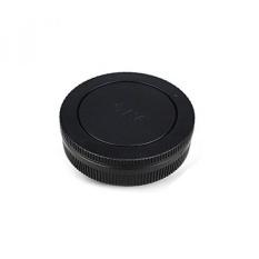 JJC Tutup Tubuh dan Belakang Tutup Lensa Perlengkapan untuk Canon EOS-M Seri Kamera Mirrorless + Canon EF-M Mount Lensa-Intl