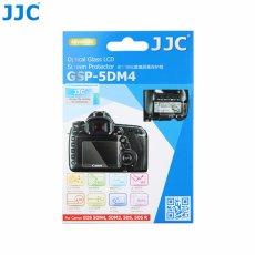 JJC GSP-5DM4 Tempered Kaca Optical Glass LCD Screen Protector untuk Canon EOS 5D Mark