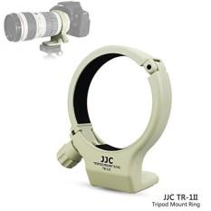 JJC Tripod Kerah Dudukan Lingkaran untuk Canon EF 70-200 Mm F/4L & Canon EF 70/ 200 Mm F/4L Aku S Lensa, menggantikan Canon Tripod Dudukan Lingkaran A-2-Internasional