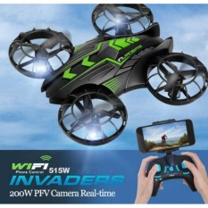 Beli Jxd 515W Invaders Wifi Fpv Mini Drone Quadcopter W Altitude Hold Seken