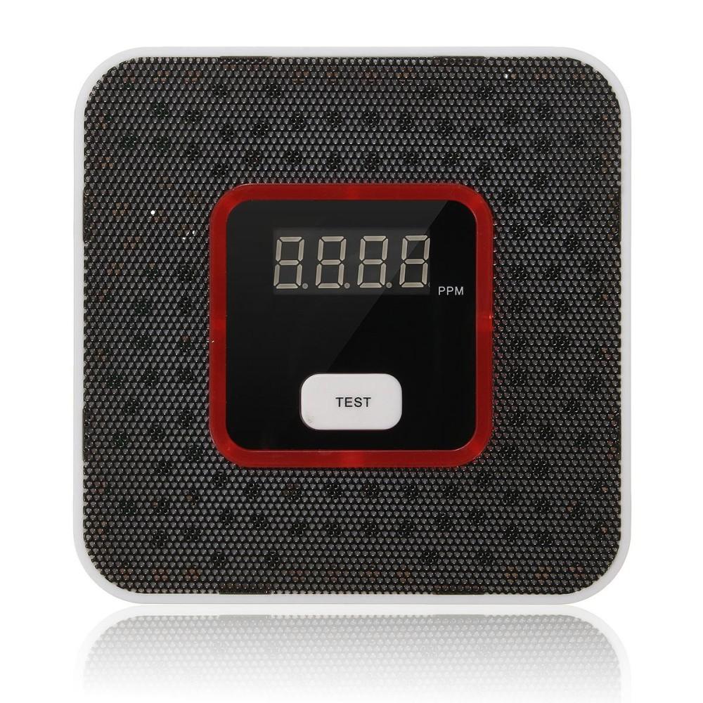 JKD-818 Cerdas LCD Kebocoran Gas Yang Mudah Terbakar Alarm Sensor Penguji Keamanan Rumah-Internasional