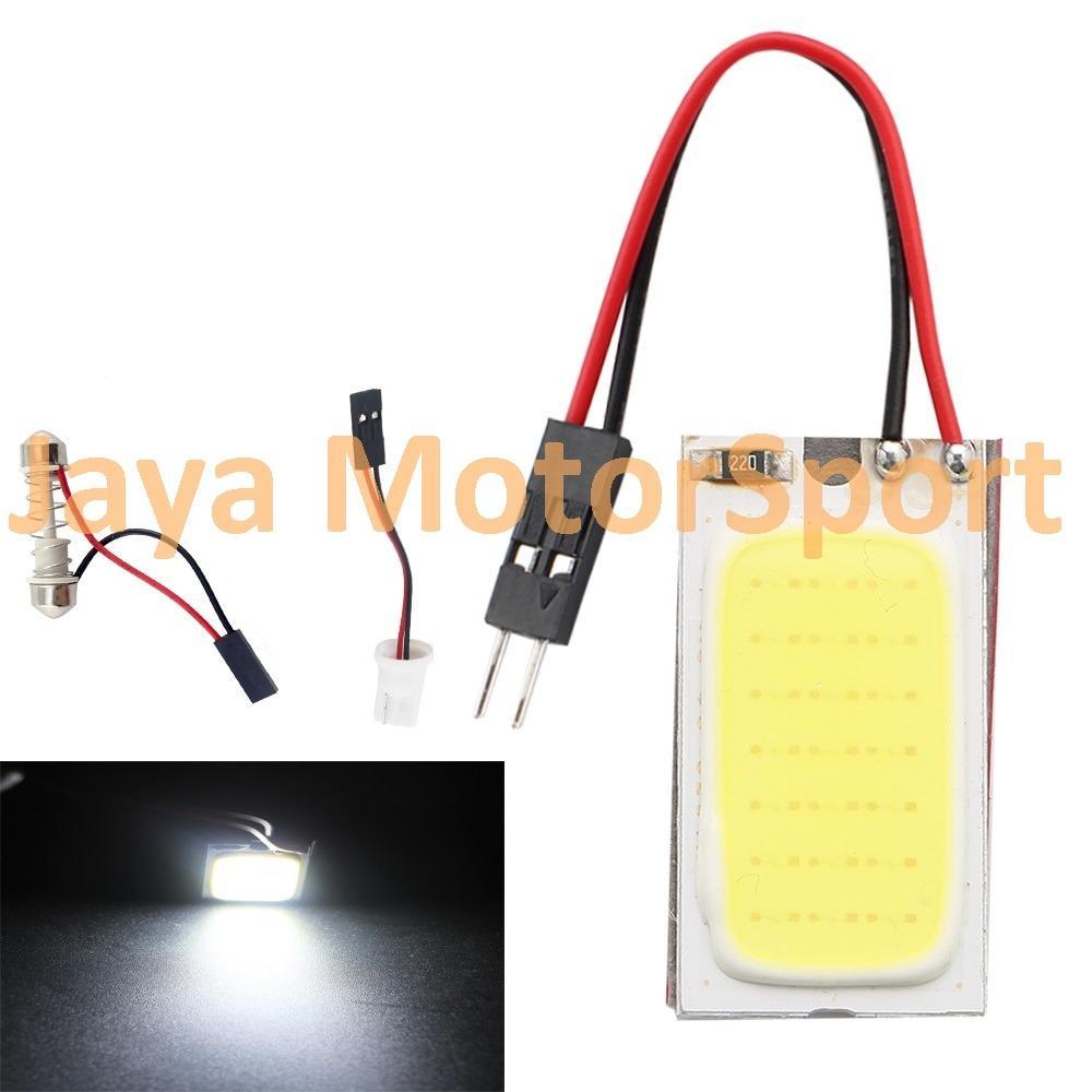 JMS - 1 Pcs Lampu LED Kabin / Plafon Mobil COB 21 SMD - White