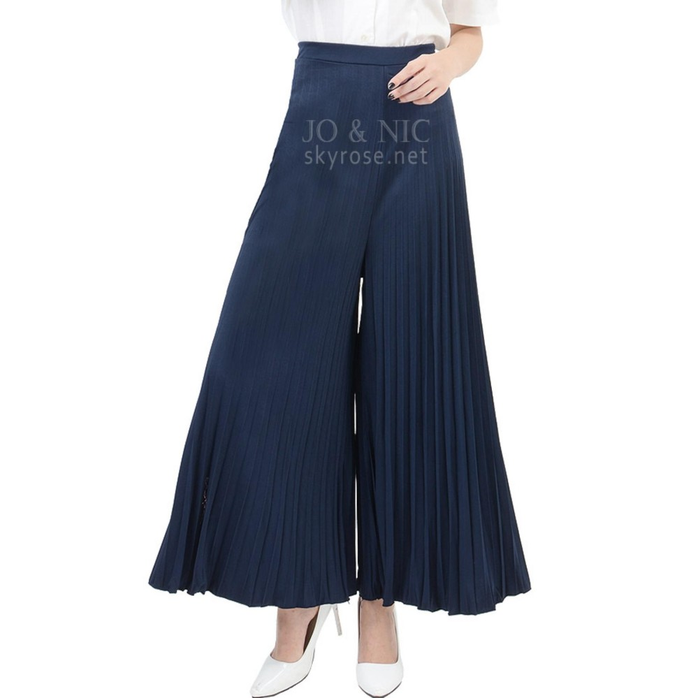 Jual Celana Wanita Terbaru Pendek Jeans Double Stripe Soft Blue