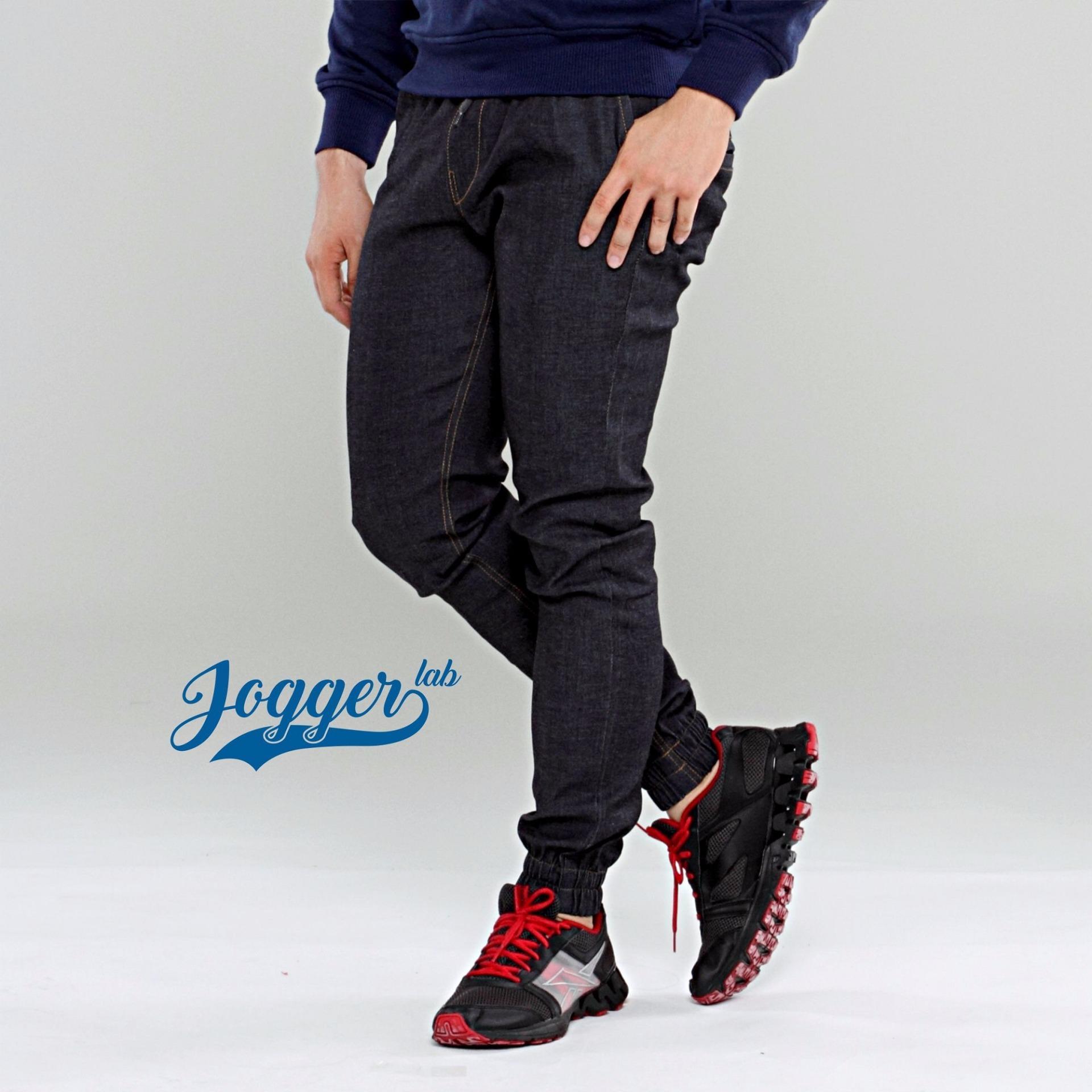 Perbandingan Harga Jogger Lab Jogger Jeans Black Indigo Jogger Lab Di Indonesia