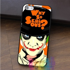 joker why so serious 14 For Iphone 8 Protection Mobile Phone Case Cover TPU Soft Case - intl