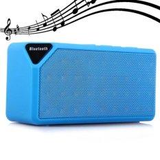 JOOX X3 Bluetooth V2.1 Mini Speaker Portable Nirkabel dengan FM Radio USB Input (