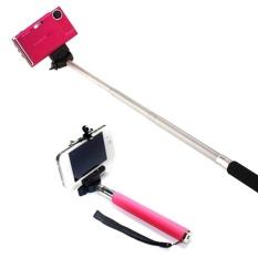 JOR Terbaik Harga untuk 3 X Monopod untuk Outerdoor Z07 1 Kamera Genggam Fleksibel (Pink)-Intl