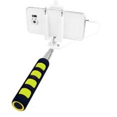 Jor Lipat Genggam Berkabel Selfie Tongkat Monopod Kamera Telepon untuk Outerdoor Tiang Penutup Remote untuk IOS 5.5 Android 4.2 iPhone 6 Plus S 5 Samsung Galaxy S6 S5 Sony Xperia Z3 LG Huawei (Hitam/Kuning) -Intl
