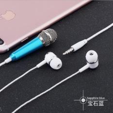 Jual Joy Mini Portable Mikrofon Stereo Mic For Ponsel Laptop Rose Gold Branded Original
