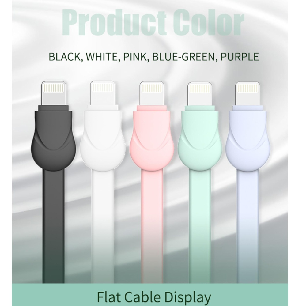 Joyroom USB Cable For iPhone 7 ios Charger Data Cable For iPhone 7 6 6S Plus 5 5S iPad Mobile Phone Cables SL121-IP5