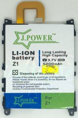 J.POWER baterai double Power for Sony Xperia Z1 / L39H / C6903 / C6902 / LIS1525ERPC - 5200mAh