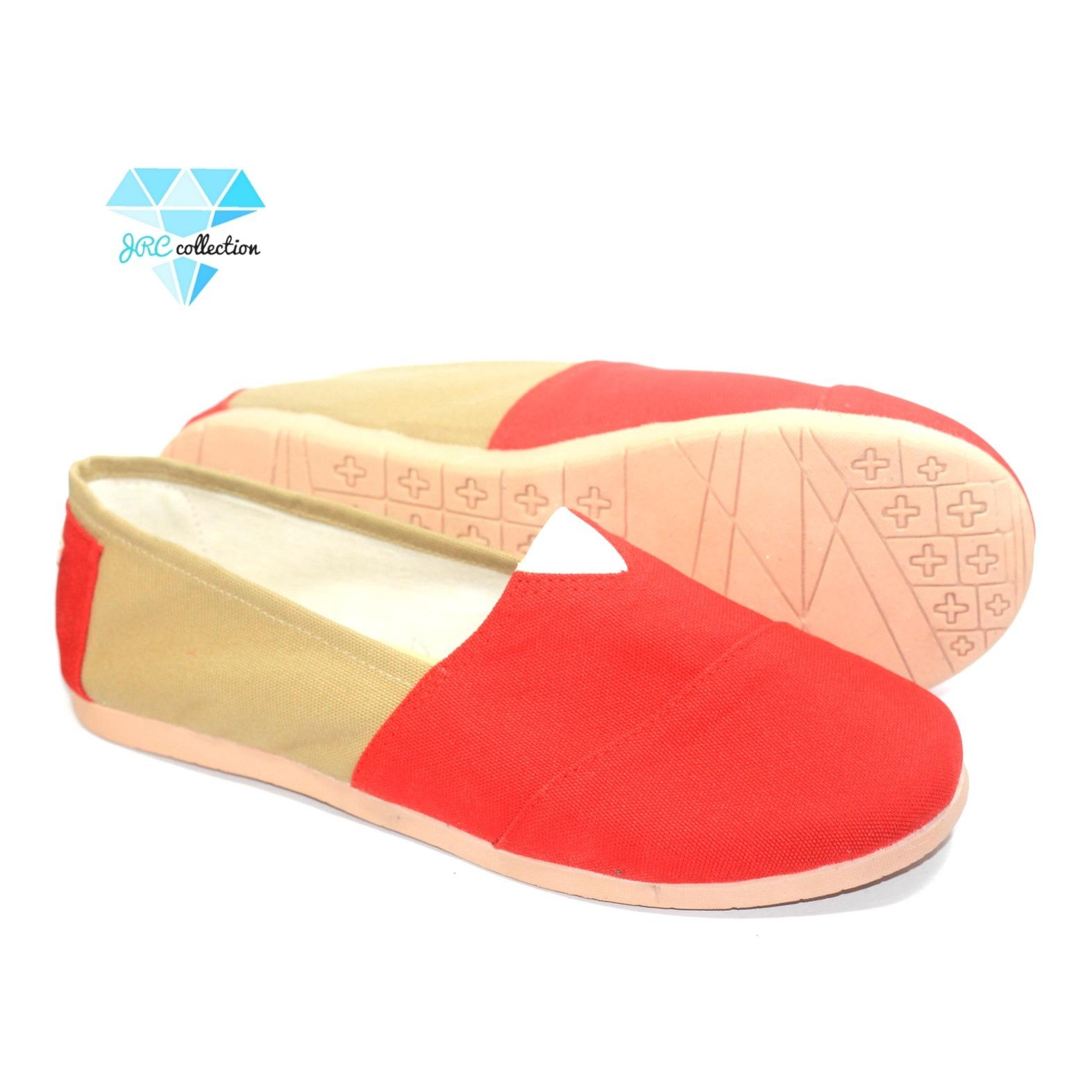 Beli Jrc Sepatu Flatshoes Slip On 2 Warna Sejenis Toms Wakai Kredit Jawa Barat