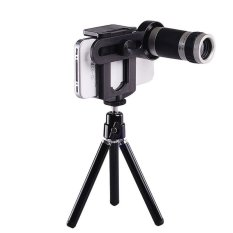 Review Jtp Paket Lensa Tele Zoom 8X Holder Tripod Universal For Smartphone Hitam Jtp