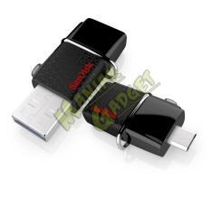Jual Flashdisk FD Sandisk OTG Ultra Dual 64 GB USB 3.0 Murah Garansi