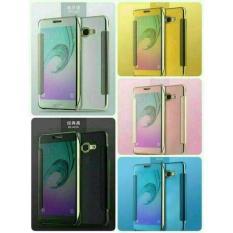 Jual Flip Cover Mirror Autolock Case Samsung Galaxy A320 / A3 2017 Murah