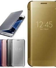 Jual Flip Mirror Autolock Case Samsung Galaxy S6 Good Qualty Murah