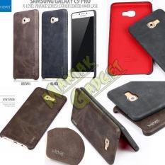 Jual Hard Case Leather Coated X-Level Samsung Galaxy C9 Pro Murah