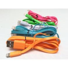 Jual Kabel Data Hippo Caby Iphone 5/6 & Ipad 4/5/Mini 5 Warna