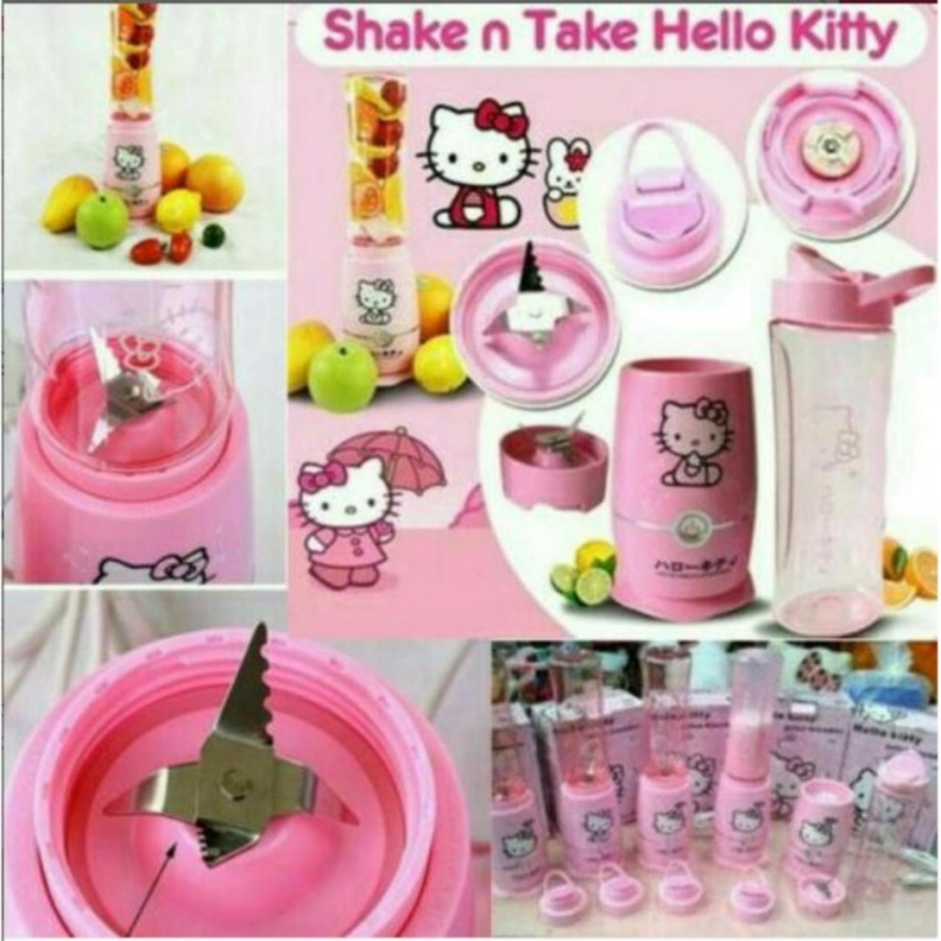 Perbandingan Harga Juicer Blender Shake Kitty 2 Cups Shake N Take Gen 4 Hello Kitty Di Indonesia