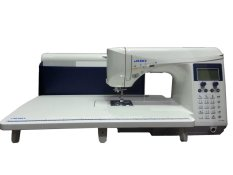 Juki HZL-F600 Exceed Quilt And Pro Special Mesin Jahit Computerised Quilting - Putih