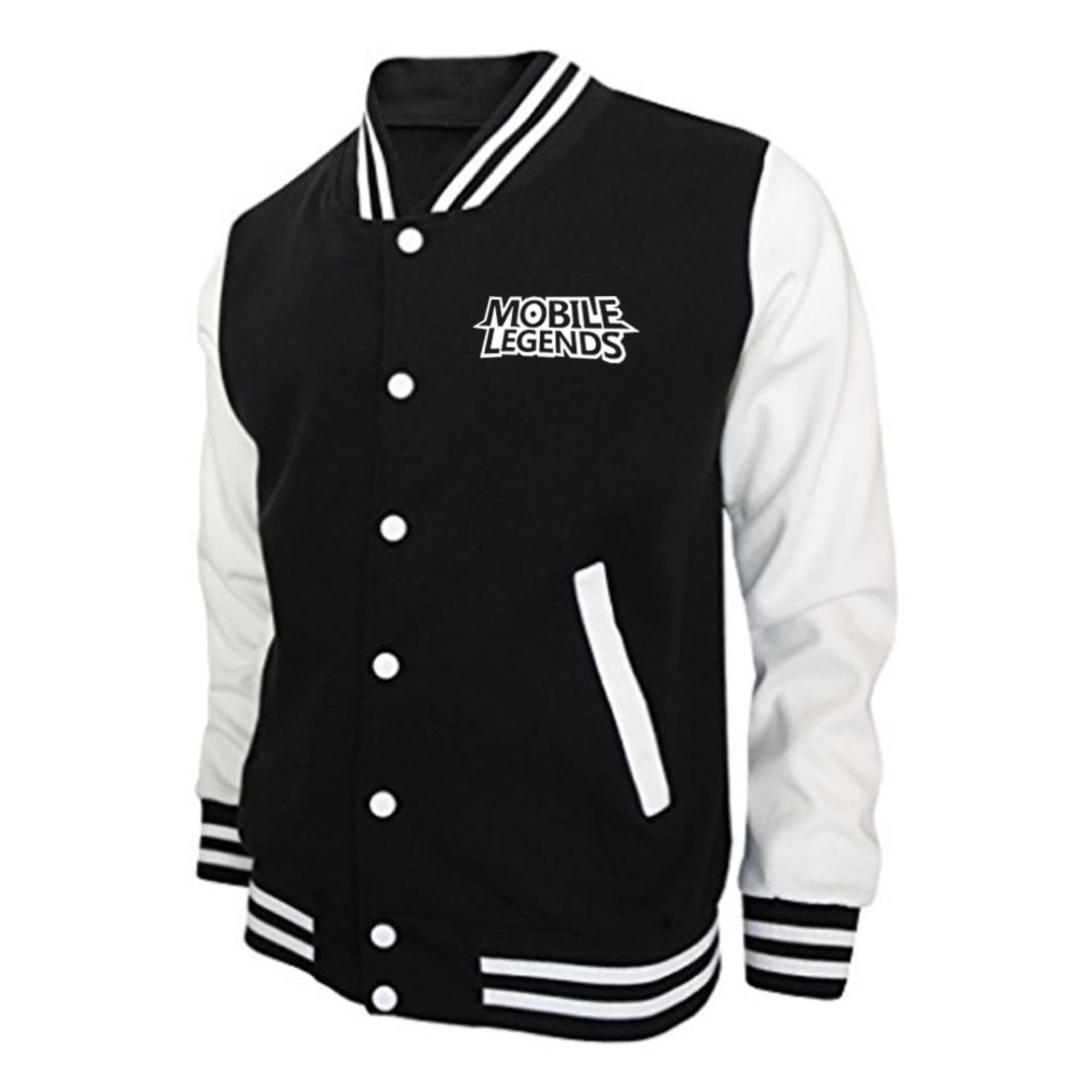 Harga Just Cloth Jaket Baseball Varsity Gaming Mobile Legends Just Cloth Original