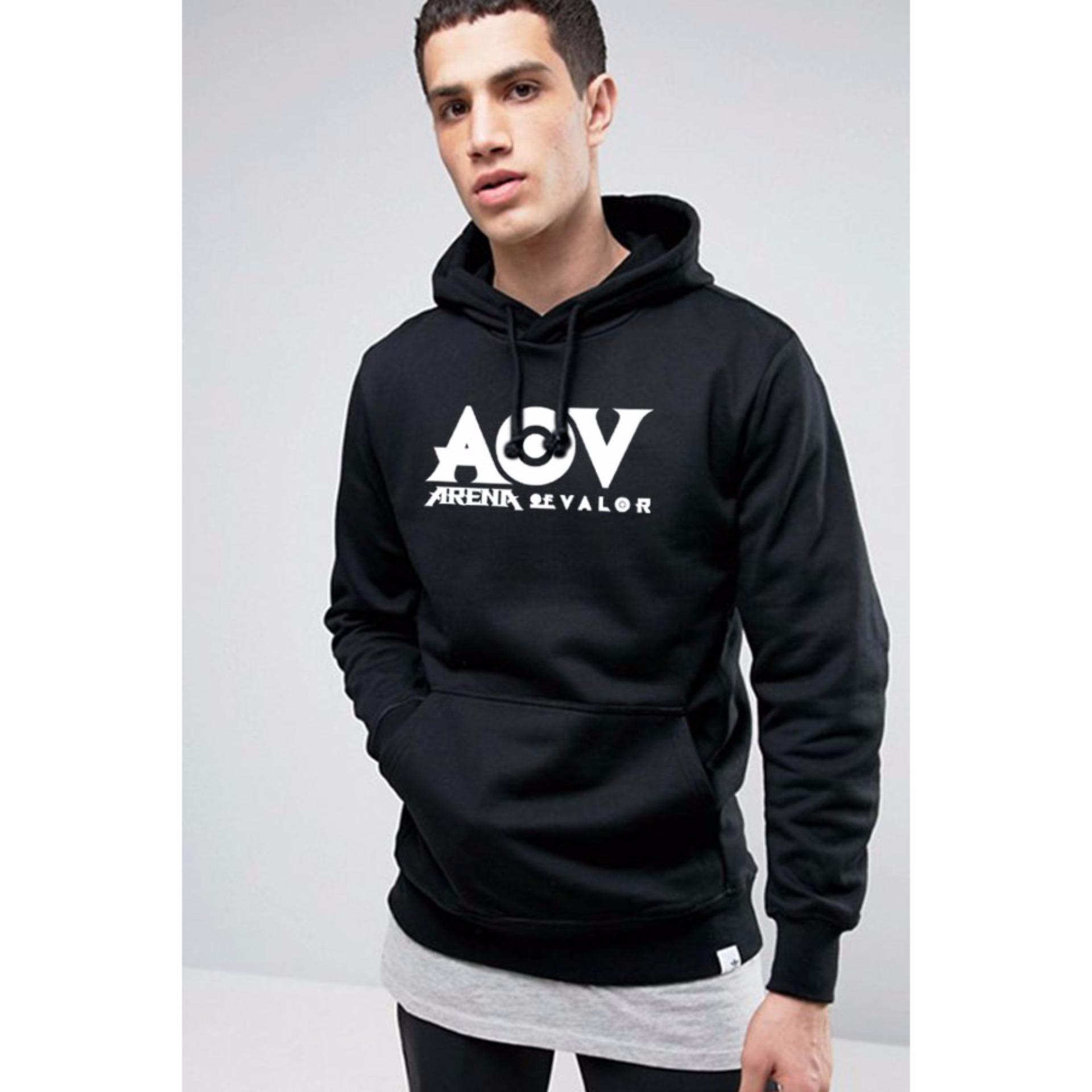 Spek Just Cloth Jaket Pullover Hoodie Gaming Aov Arena Of Valor Hitam Banten