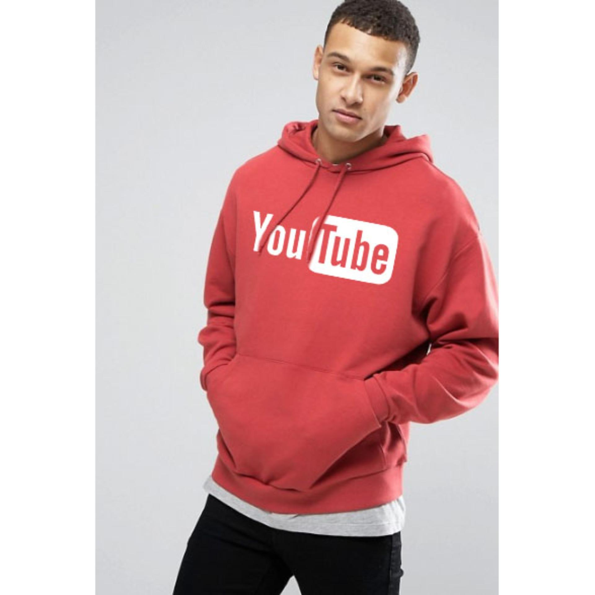 Promo Just Cloth Jaket Pullover Hoodie Social Media Youtube