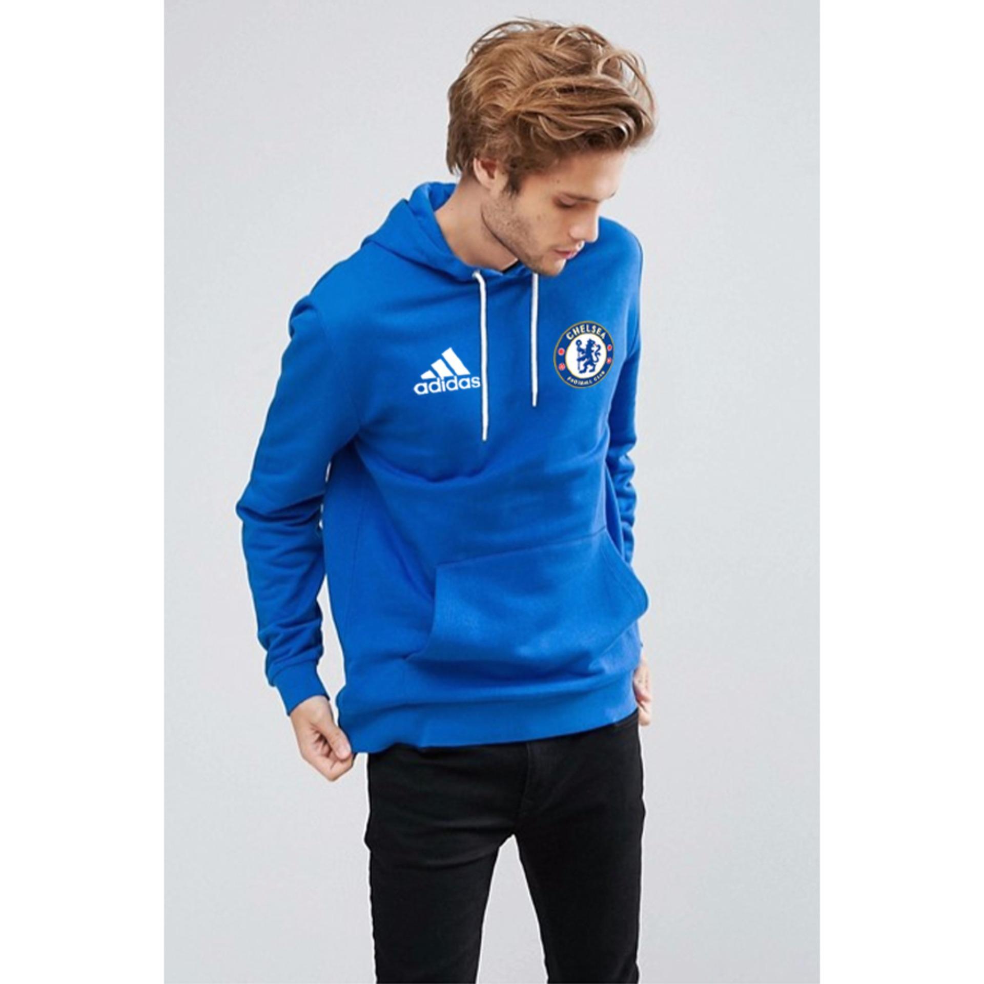 Promo Just Cloth Jaket Pullover The Blues Chelsea Biru Akhir Tahun