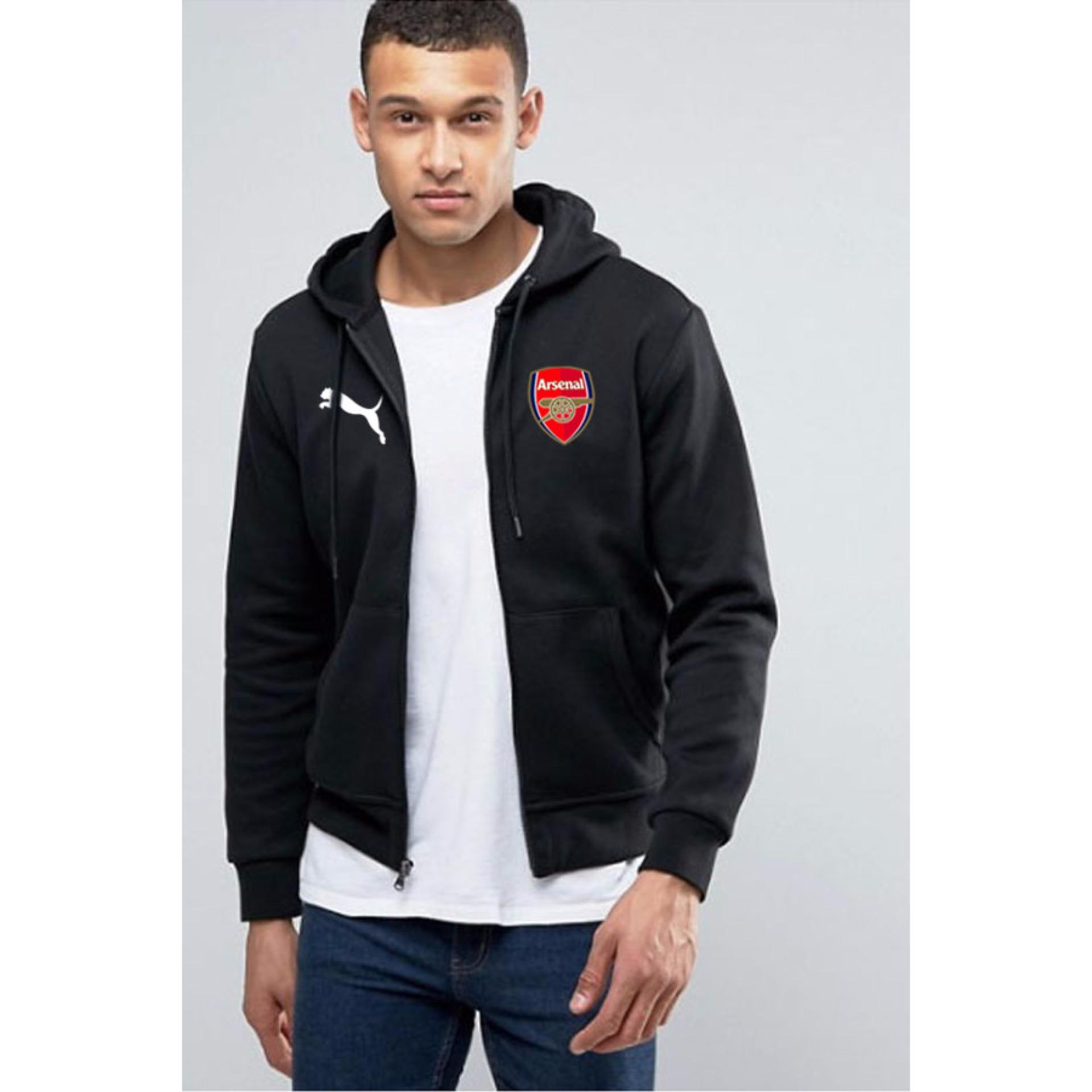 Buy Sell Cheapest Arsenal The Gunners Best Quality Product Deals Kaos Jersey 2 Just Cloth Jaket Zipper Hitam