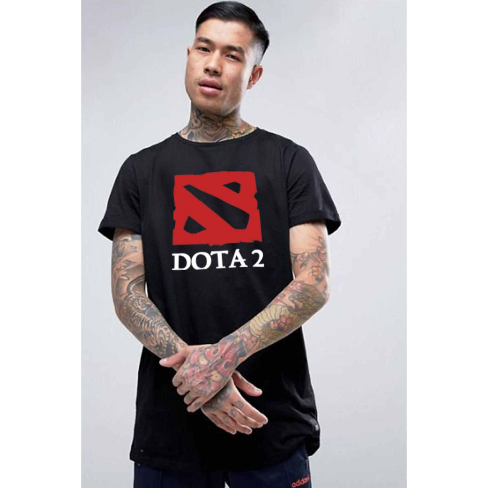 Harga Just Cloth Kaos Gaming Dota 2 Hitam New