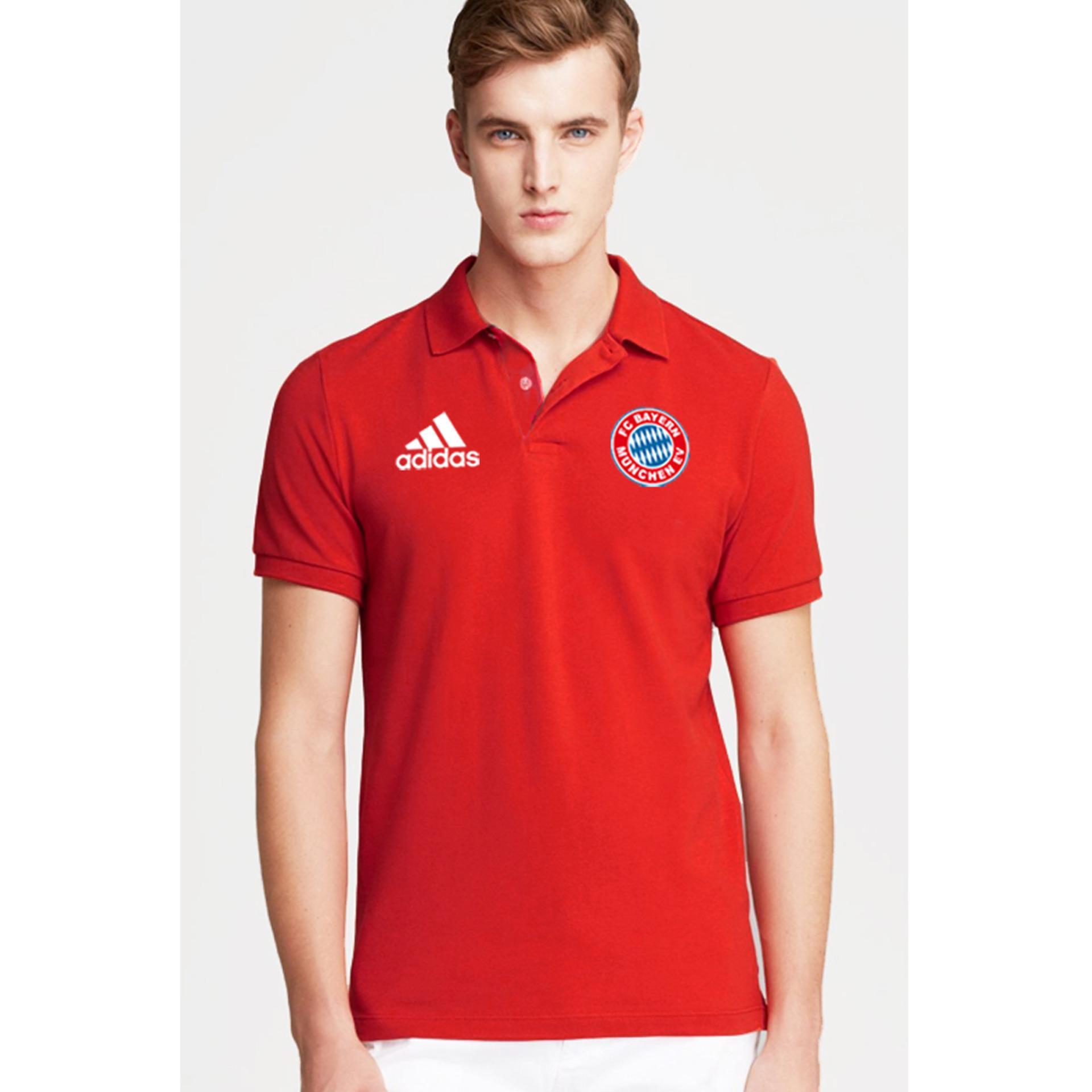Just Cloth Kaos Polo Bayern Munchen The Bavarian Merah Di Banten
