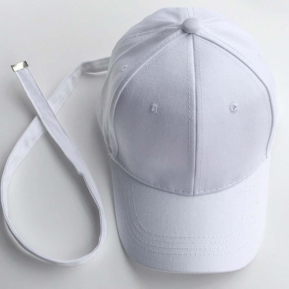 Just Cloth Topi Baseball Tali Panjang G DRAGON Korean Style Polos