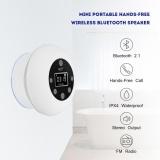 Diskon Justgogo Mini Speaker Portabel Bluetooth Nirkabel Radio Fm Bebas Genggam Tahan Air Untuk Kamar Mandi Internasional Tiongkok