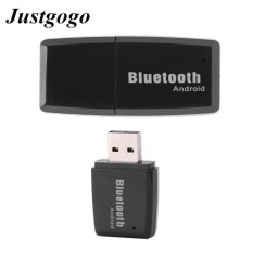 Jual Justgogo Usb Wireless Bluetooth Audio Musik Stereo Receiver Adapter Car Kit Android Hitam Oem Ori
