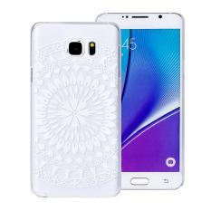 Juta Menghabiskan Tribal Relief Transparan Hard Case untuk Samsung Galaxy Note 5 Putih-Intl