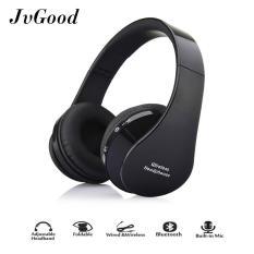 Toko Jvgood Headphone Bluetooth Diatas Telinga Hi Fi Stereo Nirkabel Dapat Dilipat Memori Lembut Protein Earmuffs W Built In Mic And Mode Kabel Pc Ponsel Seluler Tv Yang Bisa Kredit