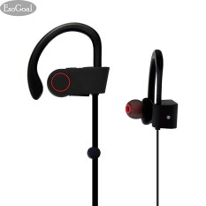 Review Tentang Jvgood Bluetooth Headphones Wireless Sports Ear Buds Gym Headsets Running Earphones Sweatproof Workout Earbuds Black Intl