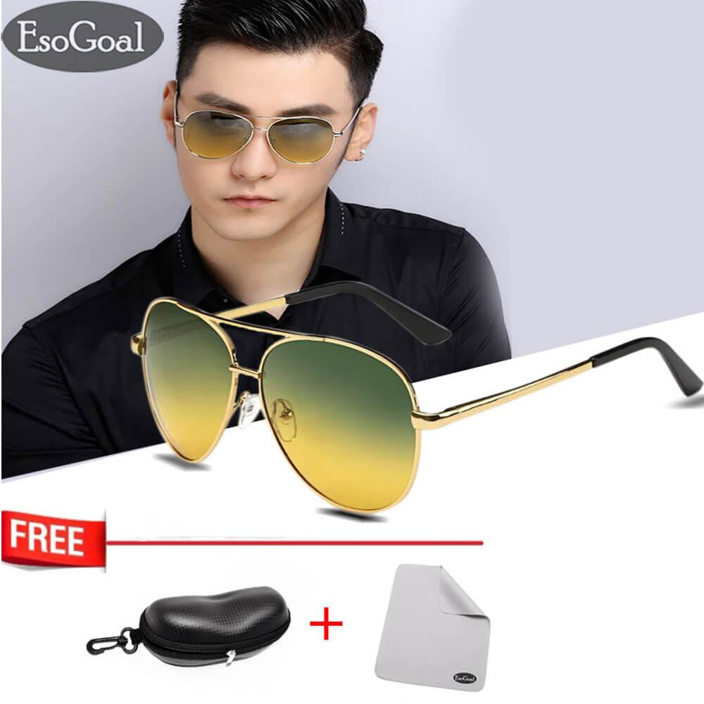 Rp 85.000 JvGood Day Night Vision Sunglasses Glasses Anti-glare Driving Eyewear ...