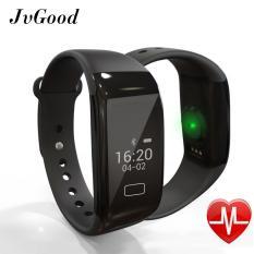 Review Terbaik Jvgood Kebugaran Tracker Watch Bluetooth Kebugaran Tracker Dengan Heart Rate Monitor Aktivitas Bluetooth Bracelet Watch Untuk Apple Ios Android Smartwatch Dengan Tidur Monitoring Gelang Band