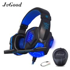 Spesifikasi Jvgood Permainan Headset Wired Gaming Workout Headphone Sport Earphone Dengan Earphone Case Kotak Terbaru
