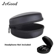 Spesifikasi Jvgood Headphone Case Carrying Hard Storage Storage Penggantian Travel Bag Pouch Kotak Matte Zipper Traveling Cover Shell Untuk Foldable Headset Earphone Murah