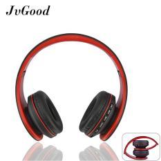 Toko Jvgood Over Ear Bluetooth Headphone Foldable Nirkabel Bluetooth Stereo Headset Wired Headphone Earphone With Hands Free Call Bekerja Dengan Mikrofon Semua 3 5Mm Perangkat Musik And Ponsel Hitam Lengkap