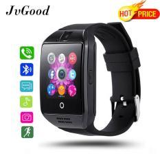 JvGood Smart Watch, Layar Sentuh Bluetooth Wrist Watch dengan Kamera/Kartu SIM Slot/Analisa Pedomet