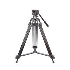 Promo Jy0508A 1 5 M Lipat Telescoping Aluminium Alloy Dslr Kamera Camcorder Video Tripod Dengan Kepala Tarik Cairan Tas Empuk Nbsp Intl Tiongkok
