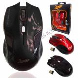Beli K One Mouse Wireless E 1500 Hitam Seken