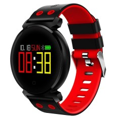 K2 Wristband Heart Rate Blood Pressure Monitor Smart Watch IP68 Water Proof swimming Bracelet Fitness Tracker For Android And IOS Phone - intl